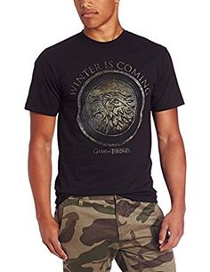 Hbos Game Of Thrones Mens Winter Is Coming Circle T Shirt Clothing