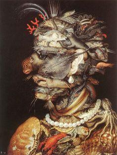 Algargos, Arte e Historia: GIUSEPPE ARCIMBOLDO. PINTOR MANIERISTA ITALIANO Y PRECURSOR DEL SURREALISMO.