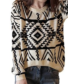 29c3a05cc55 The New 2015 Ladies Fashion Design Geometry Loose Lady Christmas Sweater  Leisure Brand Women Sweaters And Pullovers