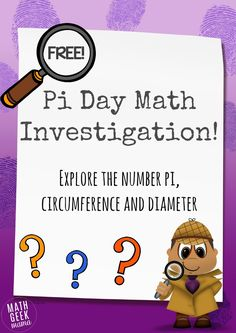 This hands on Pi Day Investigation is a fun way to introduce kids to the number pi and the relationship between the circumference and diameter of a circle!