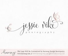 Butterfly Logo|Butterfly Logo Design|Photography Logo|Boutique Logo|Premade Logo|Watermark Logo|Business Logo|Branding Logo|digital logo by karnoug on Etsy