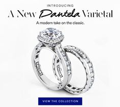 We're in Vegas shopping!! What do you think of the new Tacori Dantela collection??? Bright and Modern, NEW Dantela rings you need to see.