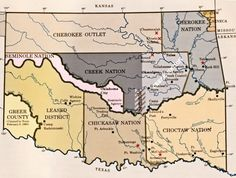 Doug Dawgz Blog: Maps and History of Oklahoma County 1830-1900.1 Native American Map, American Indians, American Art, Choctaw Nation, Family Tree Research, Tourist Info, Trail Of Tears, Us Map, Historical Maps