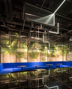 Botanist Cocktail Bar in Shanghai by Alberto Caiola   Yellowtrace