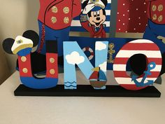 Mickey captain foam decoration