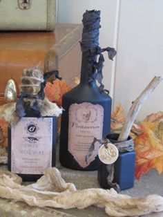 Potions: Fur of Werewolf / Veritaserum / Wand (Harry Potter)
