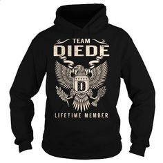 Team DIEDE Lifetime Member - Last Name, Surname T-Shirt - #gift friend #shirt outfit