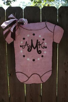 Oh my goodness. This is exactly what I would want for a little bittie in a few years. The initials are even right!