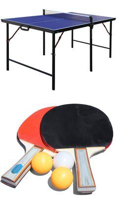 Sets 158955: Pongo Portable Table Tennis Set, Surf Blue -> BUY IT ...