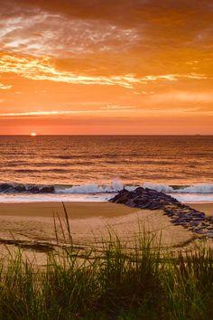 A beautiful beach sunset!