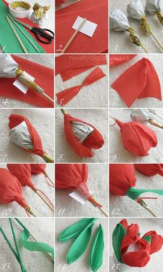 Candy Flowers Tissue Paper Flowers Diy Flowers Flower Crafts Fabric Flowers Paper Bouquet Gift Bouquet Candy Bouquet How To Make Paper Flowers Candy Flowers, Tissue Paper Flowers, Paper Roses, Diy Flowers, Fabric Flowers, Diy Bouquet, Candy Bouquet, Chocolate Flowers Bouquet, How To Make Paper Flowers