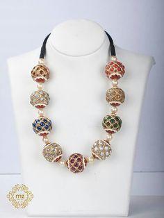 Lovely India Jewelry, Bead Jewellery, Temple Jewellery, Jewelry Art, Bridal Jewelry, Antique Jewelry, Gold Jewelry, Beaded Jewelry, Jewelery