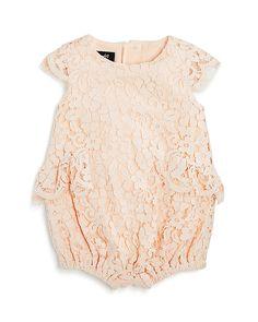 75af0e6d Bardot Junior Infant Girls' Sienna Lace Romper - Baby. Bardot JuniorBaby  Girl FashionToddler FashionKids FashionVintage Baby ClothesBaby ...