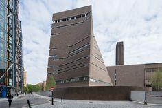 """""""The Switch House"""" Ampliación del Tate Modern / Herzog & de Meuron"""