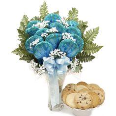 Luscious Longstem Bouquet (Blue) - $59.99