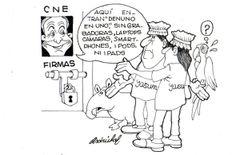 Domingo Paredes, el CNE y las firmas de Yasunidos - Asdrúbal (Hoy)