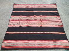 Another beautiful hand-woven blanket from Peru