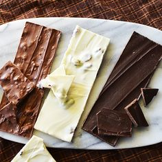 At Beekman 1802, our bark is better with every bite.  Our chocolate bark trio (elm, birch and oak)  http://shop.beekman1802.com/products/heirloom-pantry-chocolate-bark