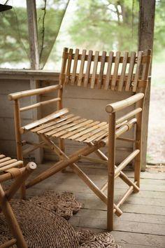 108 00 Kalalou Bamboo Director S Chair