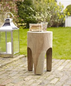 Carve a stool from a log // Bima Arched Carved Stool From Lombok