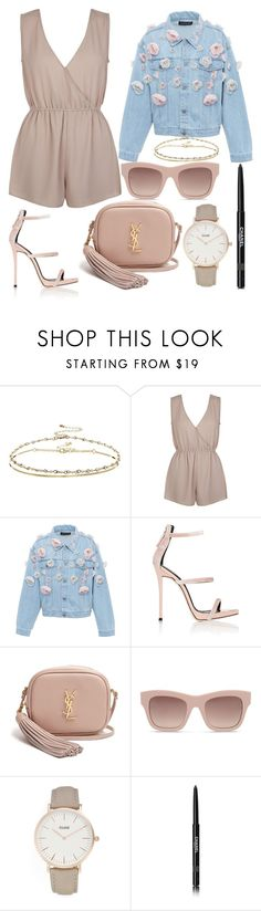 """305."" by plaraa on Polyvore featuring ASOS, New Look, Anouki, Giuseppe Zanotti, Yves Saint Laurent, STELLA McCARTNEY, CLUSE and Chanel"