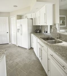 Kitchen Ideas Decorating with White Appliances Painted