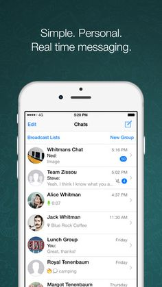 WhatsApp Messenger: iPhone Screenshot 1