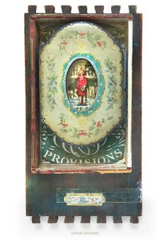 """""""Charm & Charity"""" Assemblage Art by Cathe Holden"""