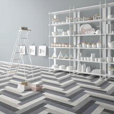 Piastrella per pavimento / a muro / in gres porcellanato / opaca - DIGITALART…
