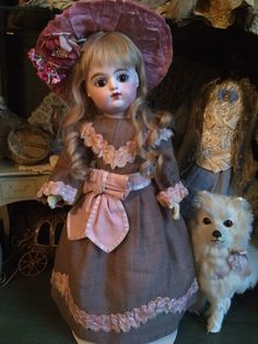 MOTHERS DAY* ANTIQUE FRENCH DOLL EDEN BEBE LOOKS LIKE GAULTIER FG PERFECT! sAle* in Dolls & Bears, Dolls, Antique (Pre-1930), Bisque, French | eBay