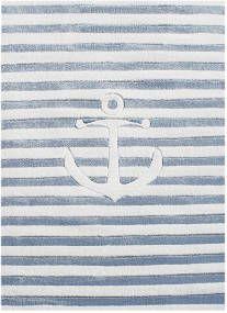 LIVONE Dětský koberec Kotva 1 Marine Look, Desi, Symbols, Peace, Art, International Waters, Sailors, To Draw, Anchor