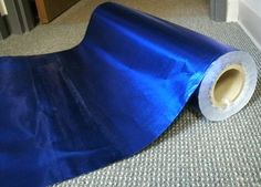 """Vintage Department Store Beautiful Blue Wrapping Paper 26"""" Wide x 3 Yards   eBay"""