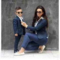 Prepárate para ser el centro de todas las miradas con estos hermosos looks mamá e hijo que puedes conseguir con unos cuantos básicos de tu closet