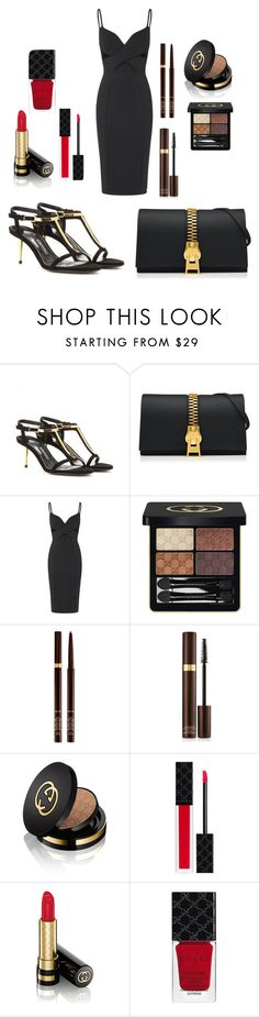 """This is style"" by ellenfischerbeauty ❤ liked on Polyvore featuring Tom Ford and Gucci"