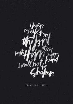 Ps 16:8