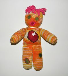 Louise Knits: Easy knitted doll