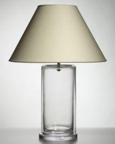 simon pearce nantucket glass table lamp