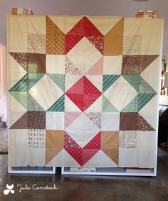 Moda Love Quilt by Julie Comstock