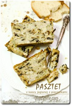 Pate with mushrooms recipes Polish Recipes, Gf Recipes, Vegetarian Recipes, Healthy Recipes, Nutritarian Diet, Food Inspiration, Good Food, Food Porn, Food And Drink