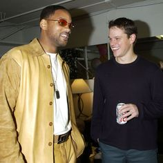 Look Back at Highlights From the Kids's Choice Awards: It was a manjoyable moment in 2002 when Will Smith and Matt Damon swapped stories backstage during the show.