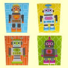 Sososo cute, the robots and the right colors