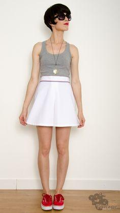 Vintage 70´s Slazenger tennis mini skirt size S-M https://www.bichovintage.com/prod/44/260/vintage-70-s-slazenger-tennis-mini-skirt-size-s-m/