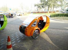 By Organic Transit. Now in the Netherlands #Ede