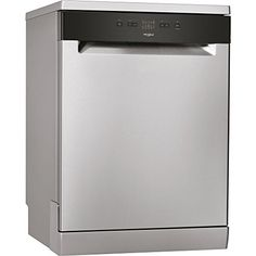 Whirlpool - WFE X - Free-Standing A+ Setting Dishwasher - Stainless Steel - m - m - m - Black - Uk Appliances Direct American Style Fridge Freezer, Whirlpool Dishwasher, Range Cooker, Cost Of Goods, Place Settings, No Cook Meals, Tub, Kitchen Design, Home And Garden