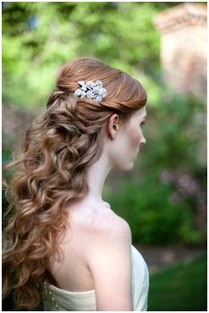 Wedding Hairstyles Half Up Half Down : Half Up Half Down Wedding Hairstyles With Headband