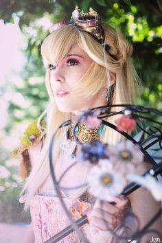 Steampunk Princess Peach [Cosplay]