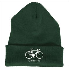 California Bicycle - Embroidered Knit Beanie
