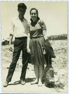 Mahmoud Darwish and Rita, 1966 (?)