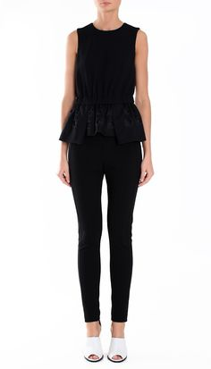 Inez Embroidery Top-available at Monkee's.  Call 804-360-4660.