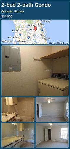 2-bed 2-bath Condo in Orlando, Florida ►$54,900 #PropertyForSale #RealEstate #Florida http://florida-magic.com/properties/82443-condo-for-sale-in-orlando-florida-with-2-bedroom-2-bathroom